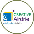 Creative Airdrie Society logo.